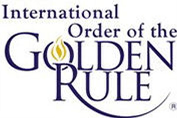 International order of the golden rule logo