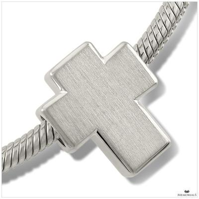 Cross Memorial Bead
